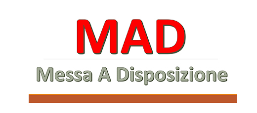 Regolamento per la Messa a Disposizione (MAD) con decorrenza as 2019/2020.