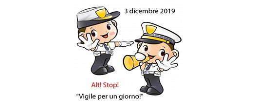 VIGILI PER UN GIORNO – Martedì 3 dicembre 2019 Giornata internazionale delle persone con disabilità Promossa dalla Polizia Locale e Amministrazione Comunale di Riccione