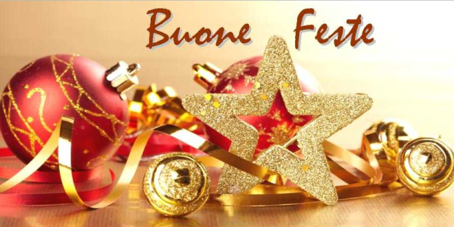 Auguri di Buone Feste e Buon 2020!!