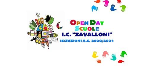 """Open Day scuole dell'Istituto """"G. Zavalloni"""" – Iscrizioni a.s. 2019/2020"""